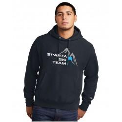 Sparta Ski Team Champion Hoodie in Grey '21