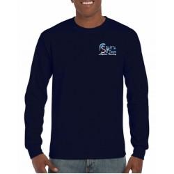 Embroidered Long Sleeve DryBlend Ski Team T-Shirt