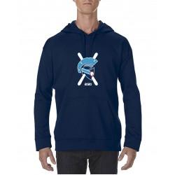 Spartan Dark Navy Performance Hooded Sweatshirt