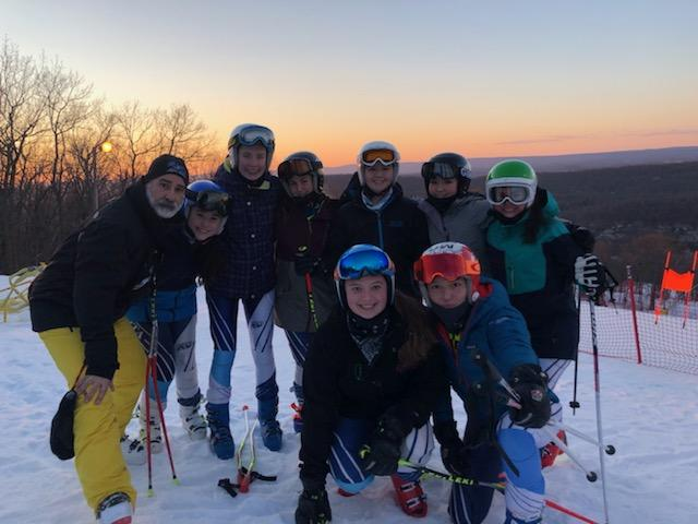 Sparta Girls Ski Team