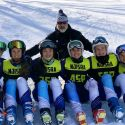 Sparta Girls Ski Team 6th Place States