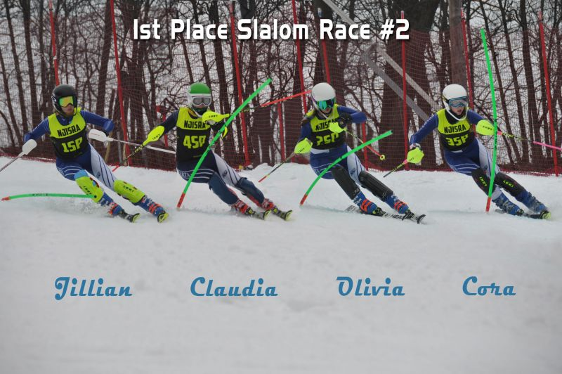 1st Place At Slalom Race #2