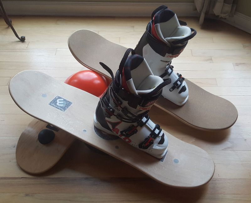 Whirly Boards Ski Boots