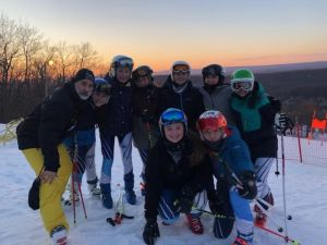 Sparta Girls Varsity Ski Team 2019