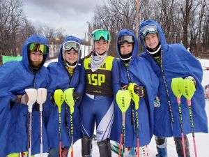 Girls Varsity Ski Team 2nd Place