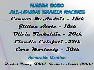 NJISRA Sparta All League Ski Racer 2020