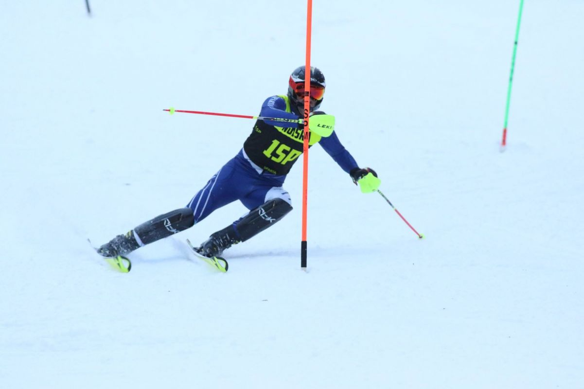 Sparta High School Ski Team Slalom Race