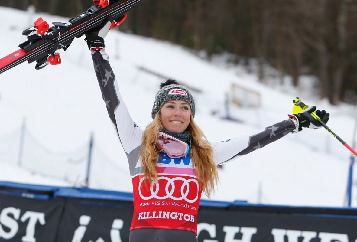 Shiffrin Killington World Cup